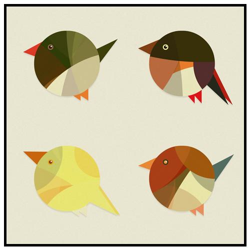 on hyperbolic geometry and birds